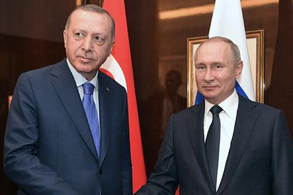 Путин и Эрдоган обсудили возобновление авиасообщения