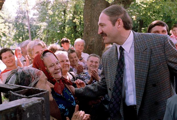 Александр Лукашенко, первая предвыборная кампания