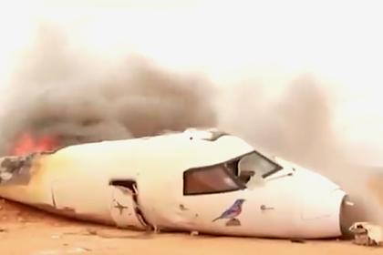 Самолет с гуманитарной помощью ООН упал в Сомали