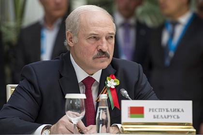 Лукашенко обвинил Запад в двойных стандартах