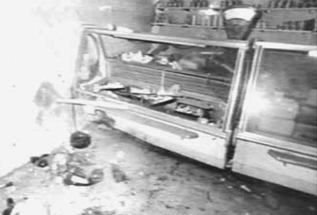 Последствия взрыва в гастрономе №15