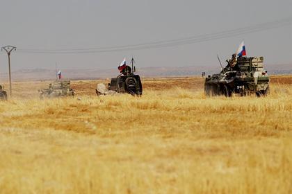 Военные США преследовали российские броневики в Сирии