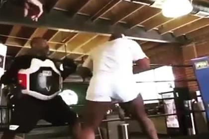 Физическая форма 54-летнего Тайсона поразила фанатов