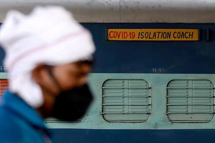 Число зараженных коронавирусом в Индии превысило один миллион
