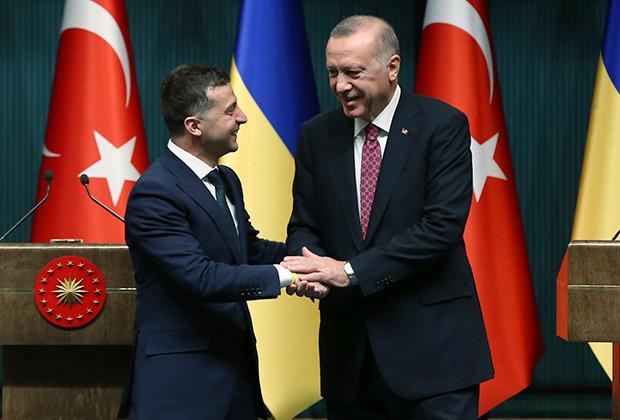 Эрдоган и Зеленский