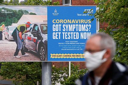 Британия остановила публикацию данных по смертям от коронавируса