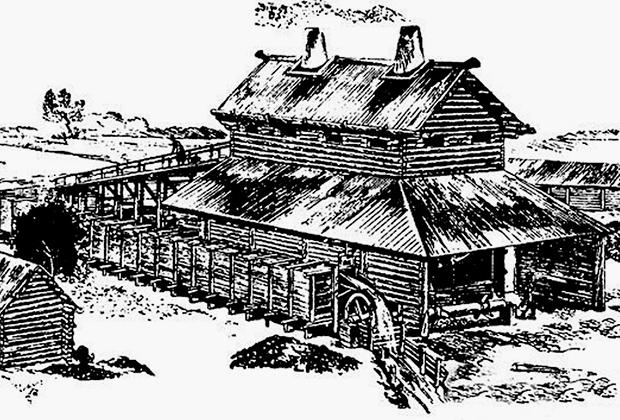 Первые доменные производства