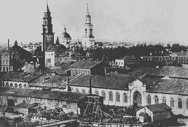 Невьянский завод в начале ХХ века