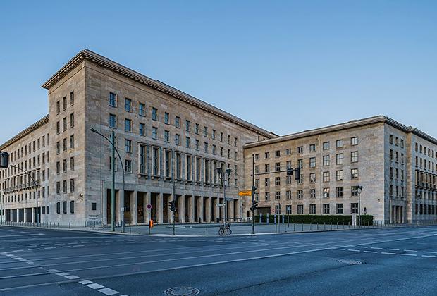 Министерство финансов Германии, в подчинении которого находится налоговая служба