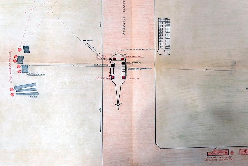 План операции по освобождению заложников в аэропорту Новокузнецка 14 мая 1979 года