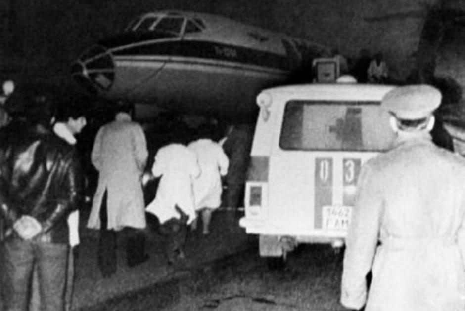 Захват и попытка угона самолета Ту-134 в ноябре 1983 года