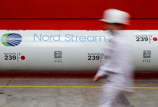 Участок трубопровода «Северный поток-2»