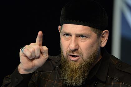 Кадыров назвал слабаками наложивших на него санкции американцев
