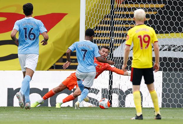 Матч «Уотфорд» — «Манчестер Сити»