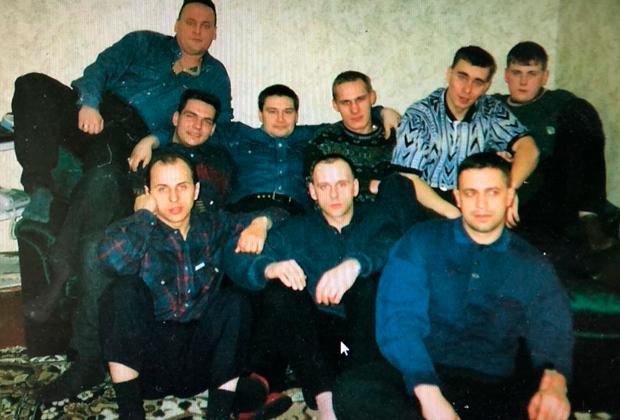 Первый состав силовых предпринимателей — фото 1995 года