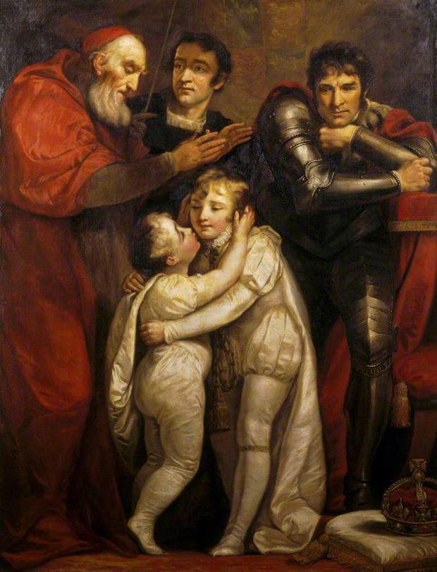 Джеймс Норткот «Встреча Эдуарда V с братом»