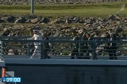 Путин прибыл в Кронштадт