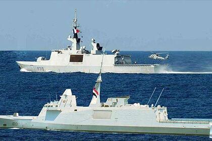 Египет показал фейковые снимки военных учений в Средиземном море