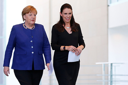 Ангела Меркель и Джасинда Ардерн