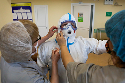 В России зафиксировали 5635 новых случаев заражения коронавирусом