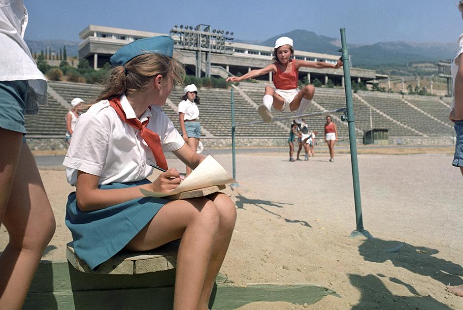 1971 год. В пионерском лагере «Артек» в Крыму