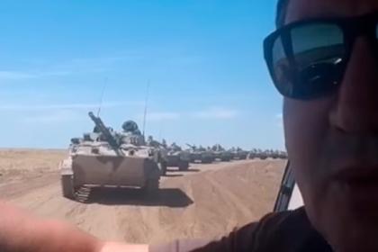 Российский фермер пожаловался на уничтожающие его поля танки