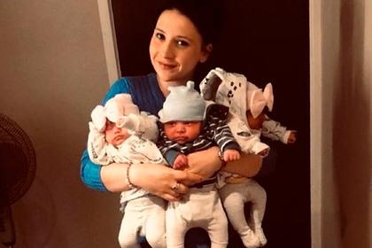 Пользовавшаяся средствами контрацепции женщина забеременела и родила тройню