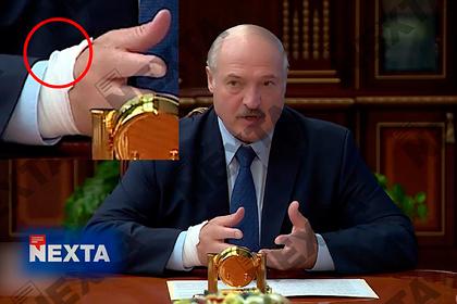 На руке Лукашенко во время совещания заметили катетер