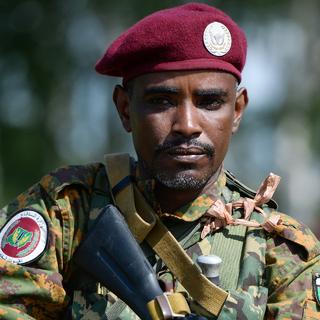 Военнослужащий ВС Судана