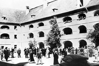 Гетто в Терезиенштадте