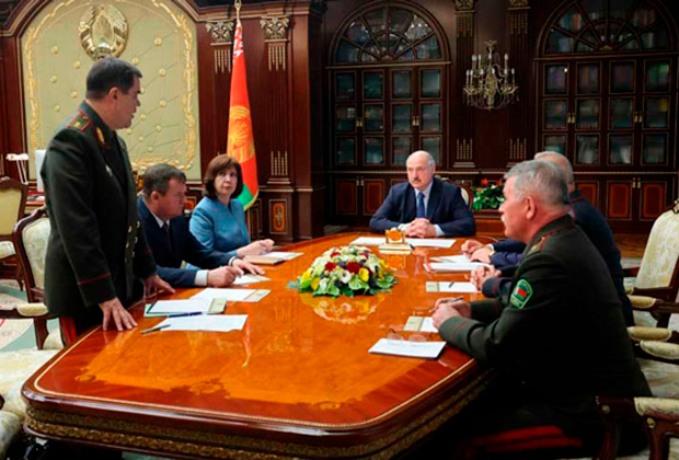 Срочное совещание Совбеза Белоруссии