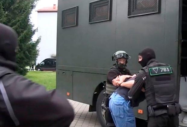 Задержание россиян