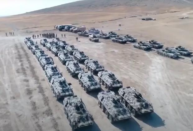 Совместные военные учения Турции и Азербайджана