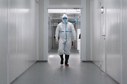 Больница для пациентов с коронавирусом в Казахстане