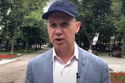 Белорусский политик Валерий Цепкало прибыл из столицы  вКиев