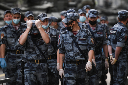 В Росгвардии отреагировали на драку с десантниками в Москве