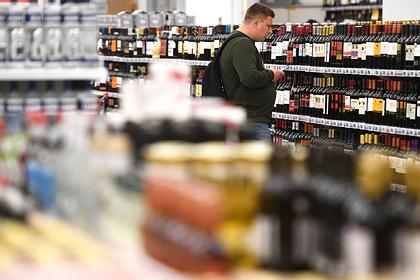 В российских магазинах начались перебои с алкоголем