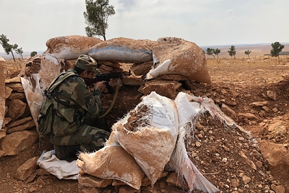 Сирийские военные понесли потери при столкновении с боевиками в Идлибе