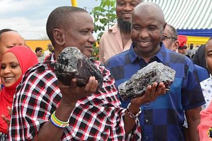 Шахтер нашел еще один редчайший драгоценный камень и стал мультимиллионером