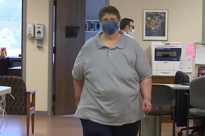 Женщина похудела на 72 килограмма и спасла себе жизнь