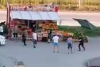 Российские десантники устроили побоище из-за дынь и были обращены в бегство