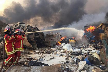 Названа новая версия взрыва в Бейруте