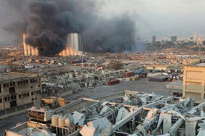 В посольстве России рассказали о мощном взрыве в Бейруте