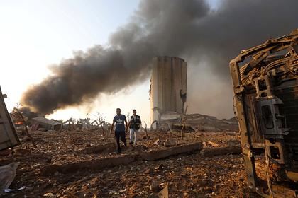 Последствия взрыва в Бейруте сравнили с бомбардировкой Хиросимы и Нагасаки