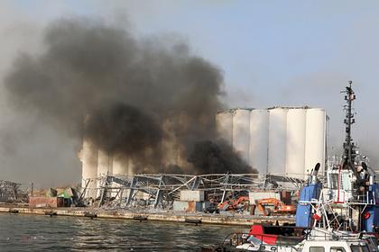 Описан момент взрыва в Бейруте