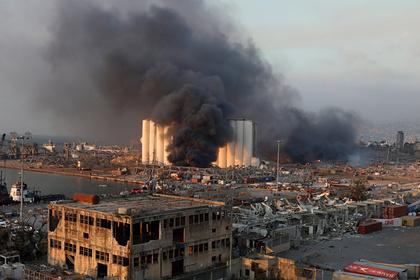 Бейрут объявили зоной бедствия