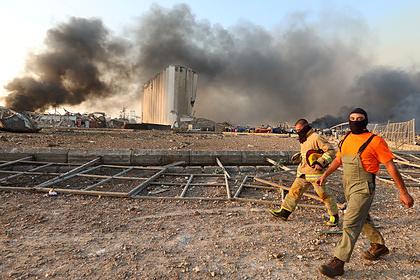 Стало известно о выбросе опасных веществ в атмосферу при взрыве в Бейруте
