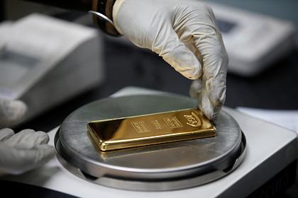 Цена на золото установила исторический рекорд