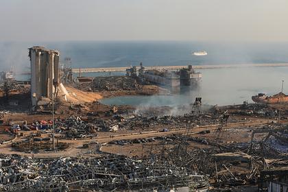 Взрыв в порту Бейрута связали с россиянами
