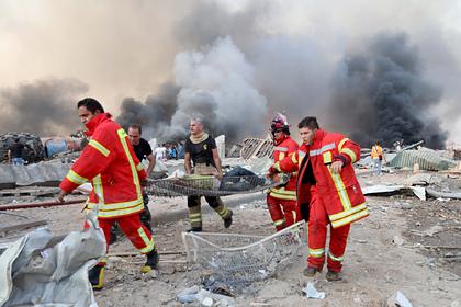 Среди серьезно пострадавших от взрыва в Бейруте не нашли россиян